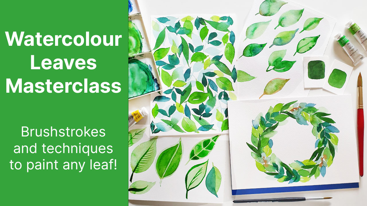 watercolor-leaves-masterclass-skillshare-class-emily-wassell