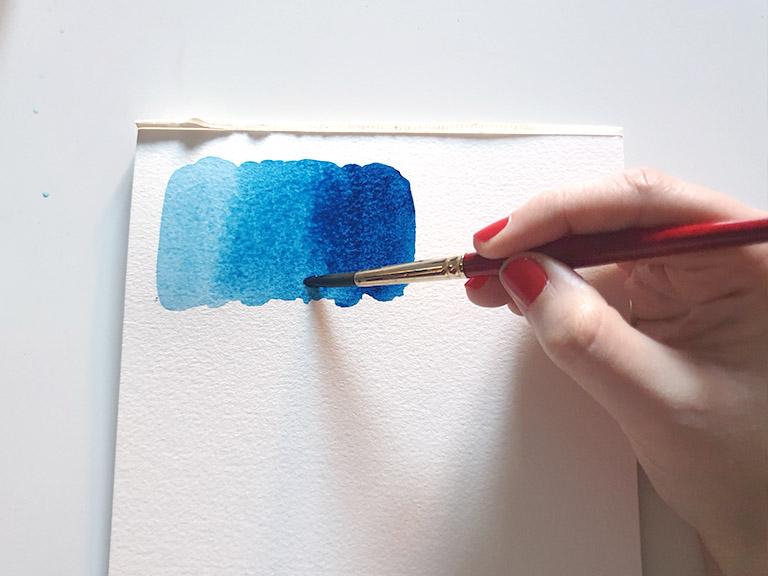 watercolour gradient tutorial part 2