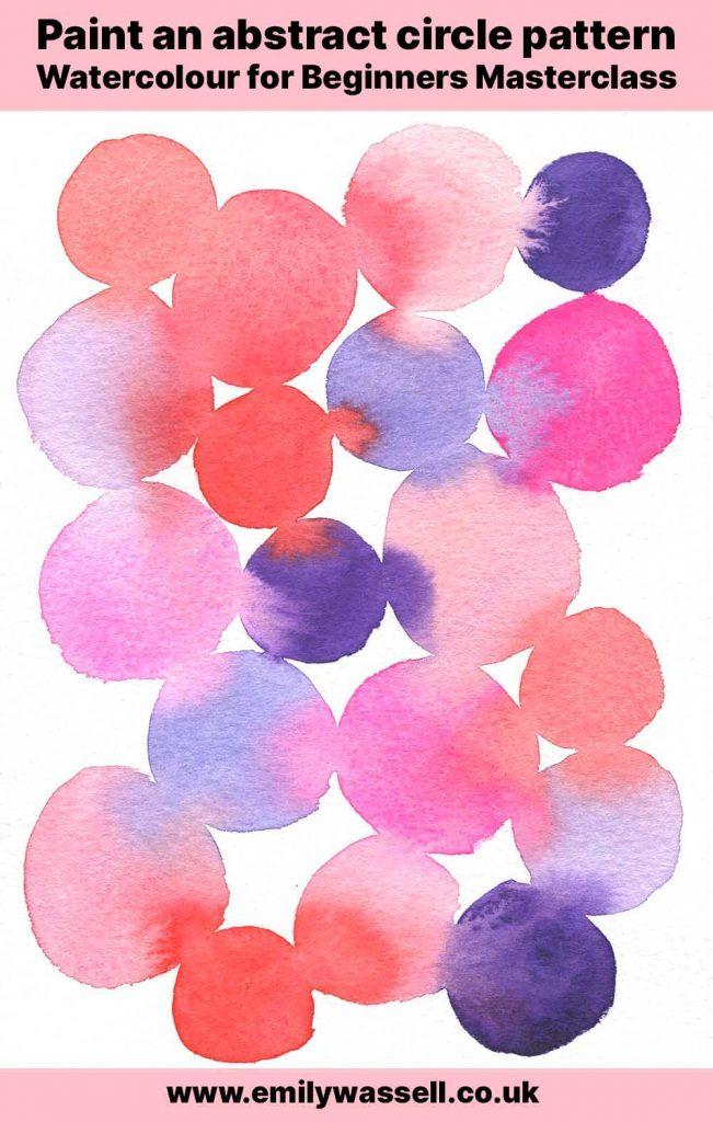 watercolour beginners masterclass project 1 spots