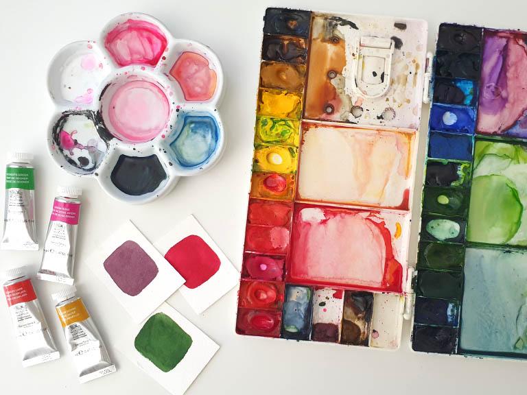 watercolor palette guide