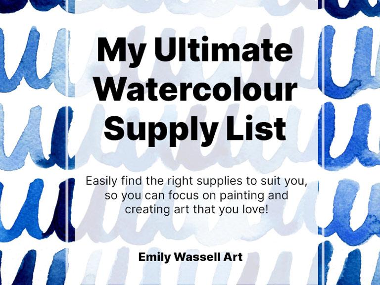 watercolour-supplies-guide-banner-emily-wassell-art